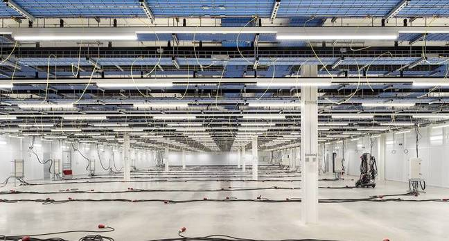 New Rackspace datacenter in Crawley, UK