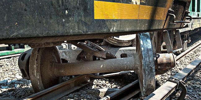 Derailed train wagon. Pic: New York MTA