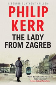 Philip Kerr, The Lady from Zagreb book cover