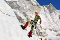 Dan Fredinburg on Mount Everest. Pic credit: Fredinburg's Instagram page