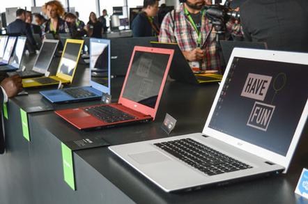 Acer E series laptops
