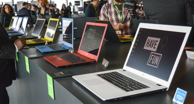 Acer E series laptops