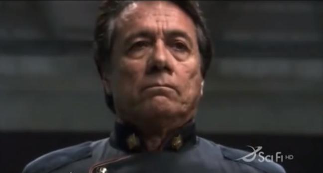 Battlestar Galactica's Commander Adama