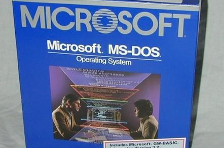MS-DOS 3.2 box