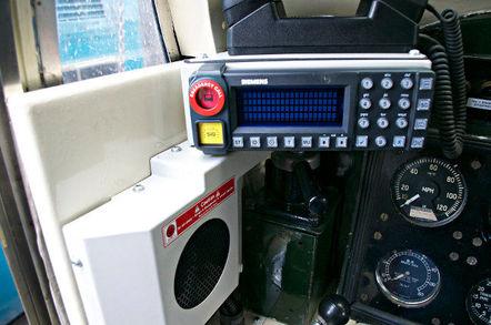 Siemens GSM-R train cab radio. Pic: Joshua Brown