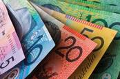 Selection of Australian banknotes