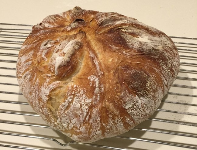 The Jacob family's loaf of bread