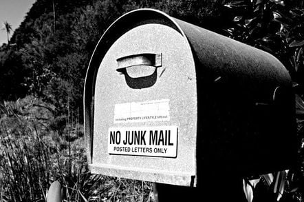 No junk mail. Pic: gajman, Flickr