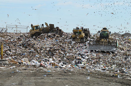 Landfill. Pic: Bill McChesney