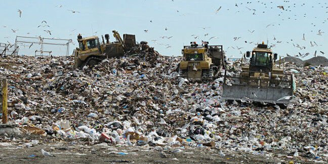 Landfill. Pic: Bill McChesney