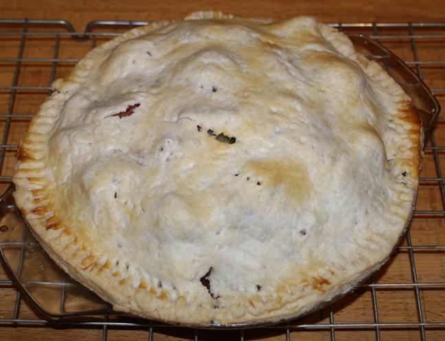 Neil's rhubarb pie