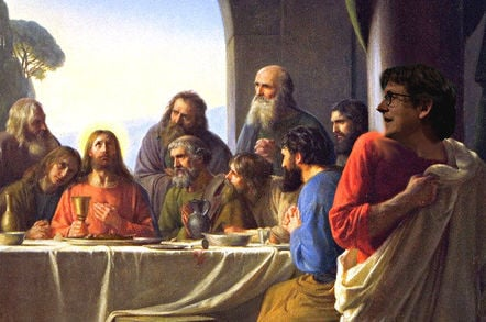 Alan Rusbridger as Judas