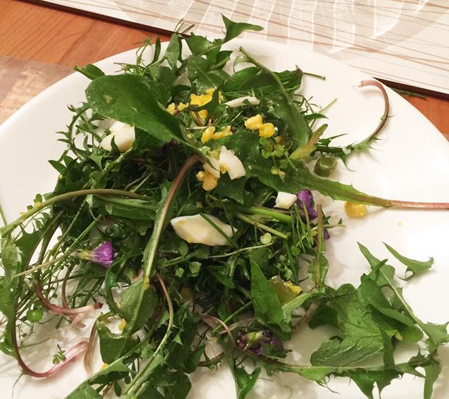 The weed salad