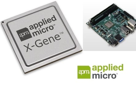 Applied Micro's X-Gene server-on-a-chip
