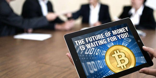 Bitcoin is the future of money CC 2.0 by Jonathan Waller https://www.flickr.com/photos/whitez/