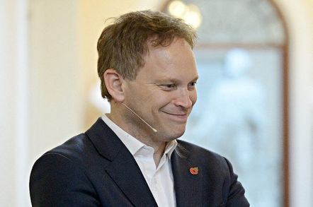 Grant Shapps, Conservative Party chairman. Pic: Sportsfile Web Summit