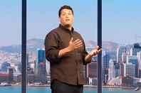 Microsoft's Terry Myerson, speaking at Build 2015
