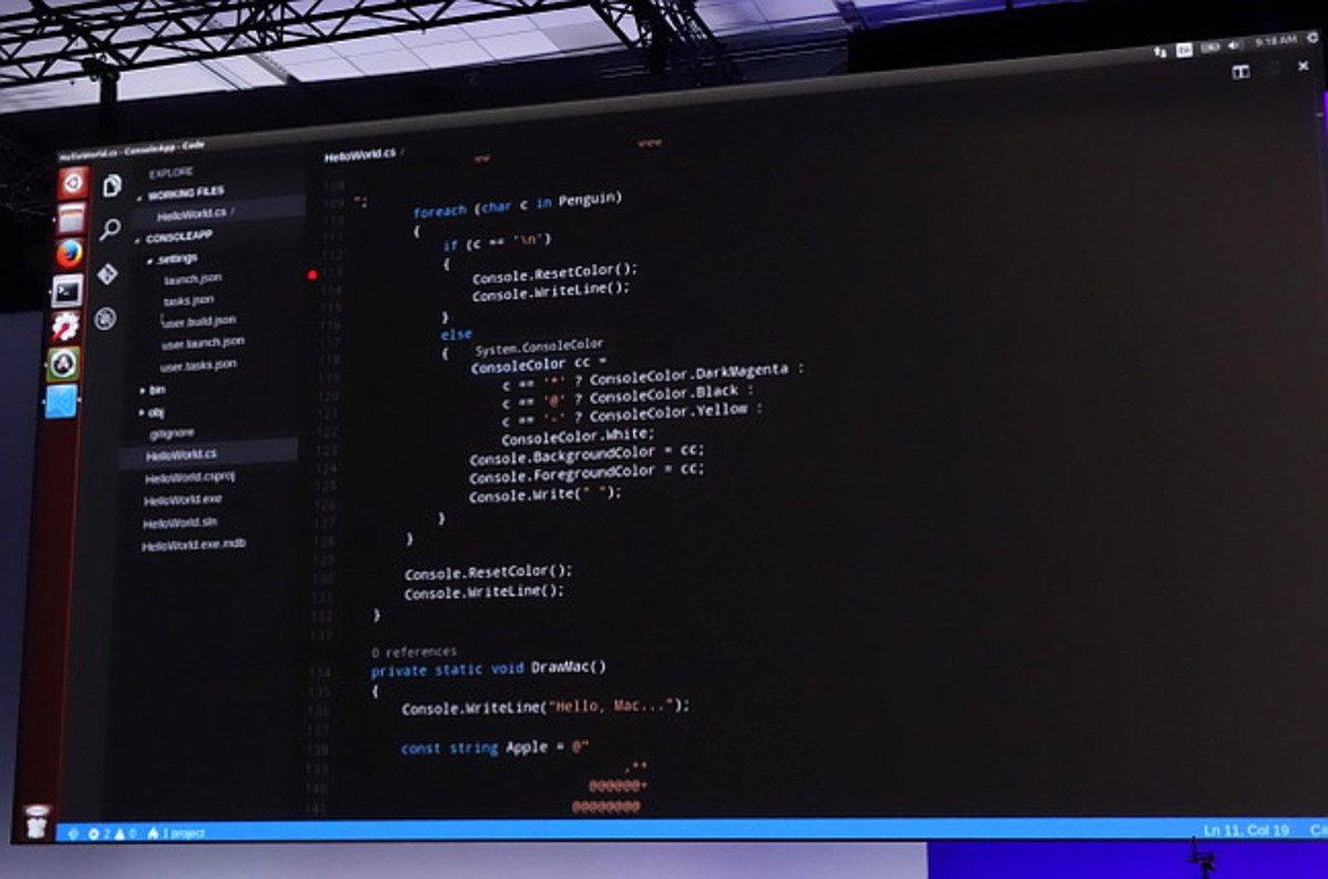 Visual Studio Running On Os X And Linux For Free So Close