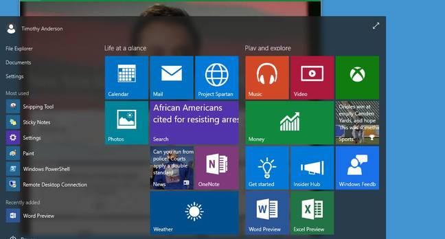 Aero transparency in the Start menu