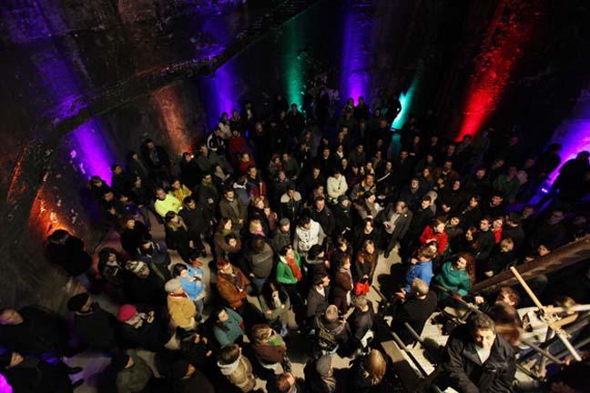 Brunel underground chamber today photo Brunel Museum