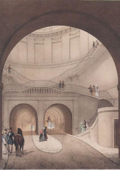 Grand Entrance Hall, credit Brunel Museum