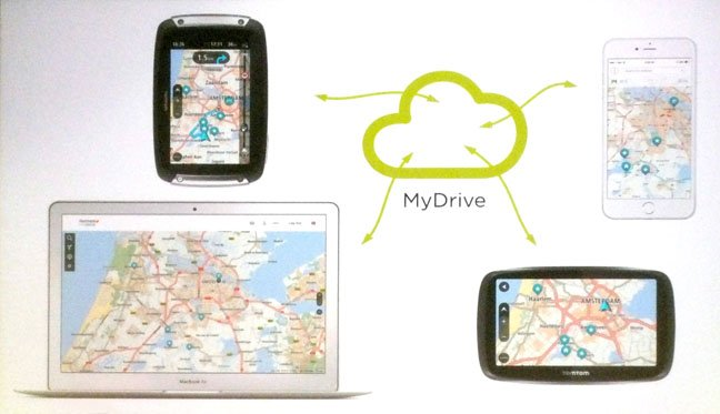 tomtom mydrive brings satnav syncing to pcs and mobiles • the register