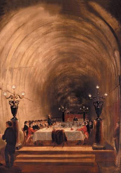 Tunnel Banquit, credit: Brunel Museum