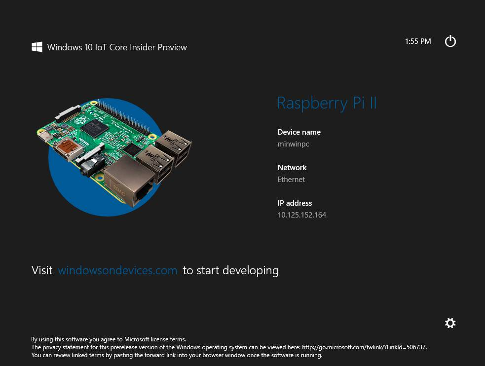 Ha Win 10 Preview For Raspberry Pi 2 Pops Out Of The
