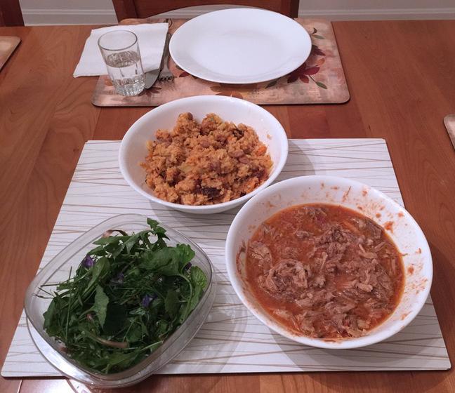 The Jacob family dinner