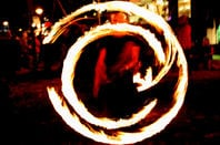 Burning copyright symbol. Photo by: Martin Fisch http://www.flickr.com/photos/marfis75/ on flickr""