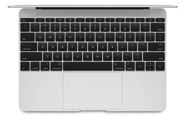 Macbook 2015 keyboard. Pic: Apple