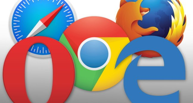 Web browsers 2015