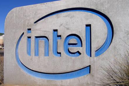 Intel sign by StockMonkeys.com
