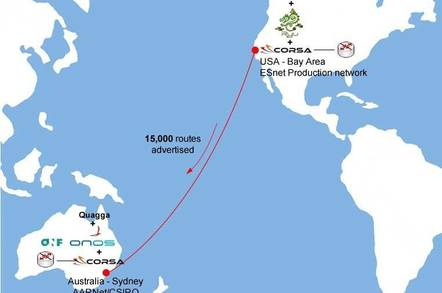 OpenFlow busts out of the data centre with 15,000-route Pacific test