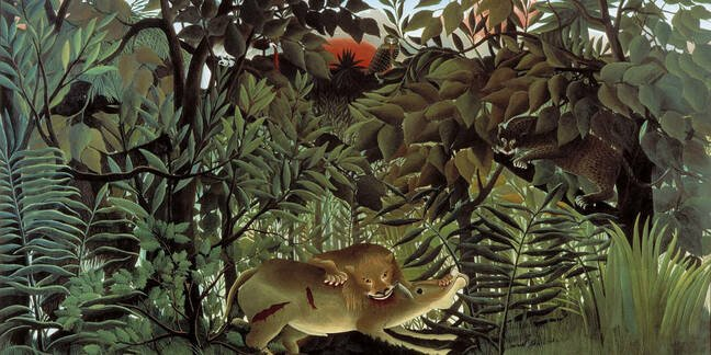 Douanier_rousseau_hungry_lion_art