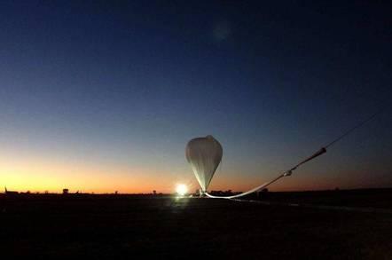 The Japanese pulsar-snooping balloon