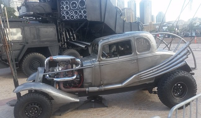 The Mad Max Nux Car