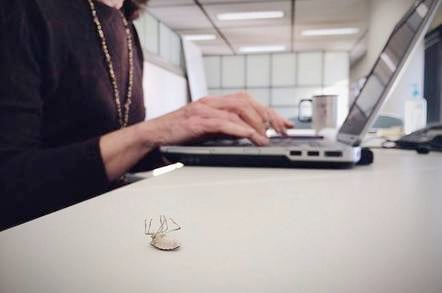 Computer with dead bug, Stacy Brunner CC2 license