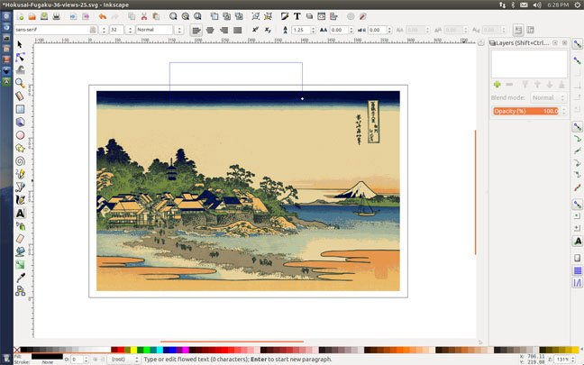 You 39 ve come a long way inkscape open source illustrator sneaks up the register Open source illustrator