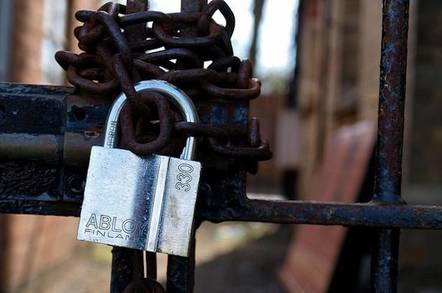 Padlocks by Simon Cocks Flickr CC2 license