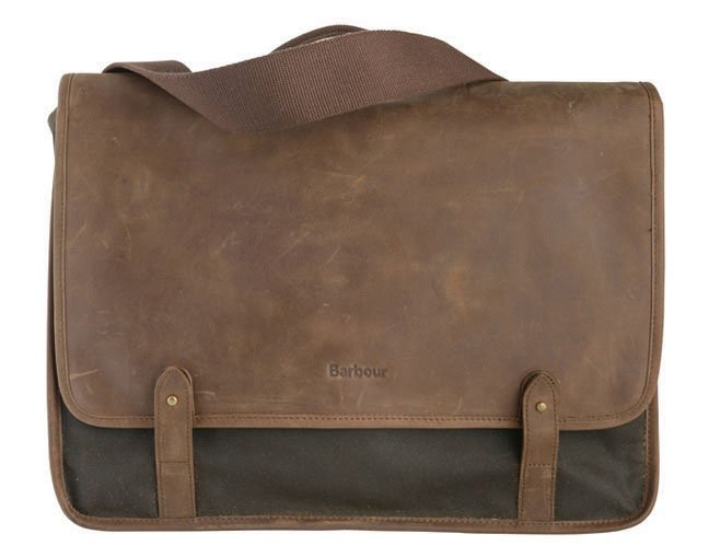 Barbour Classic Wax Leather Messenger