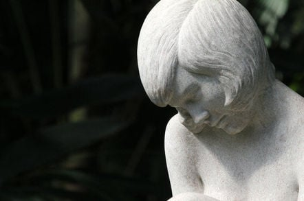Statue of a girl. Pic: Quinn Dombrowski