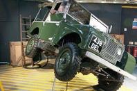 Tilted Land Rover photo Mark Whitehorn Paul Hazell