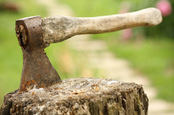 Axe, image via Shutterstock