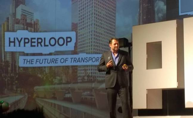 Dirk Ahlborn, CEO Hyperloop Transportation Technologies