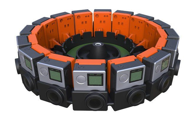 Google Jump camera array