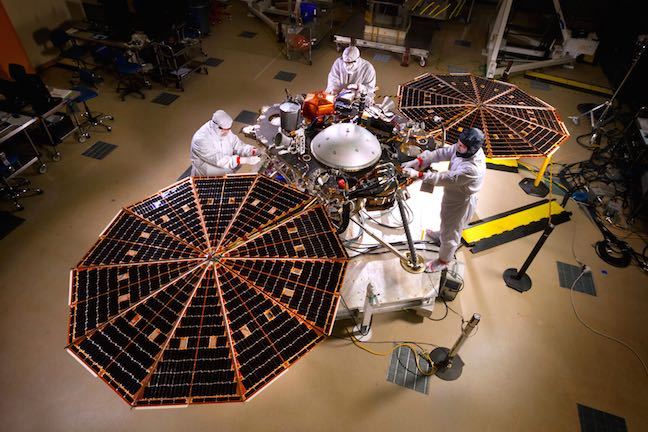 NASA's InSight Spacecraft Lands Successfully On Mars After 300-Million-Mile Journey