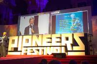 Dr Hermann Hauser addresses Pioneers Festival 2015