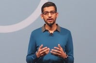 Google's Sundar Pichai, speaking at Google I/O 2015