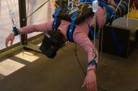 Virtual Skydiving at Pioneers Festival 2015